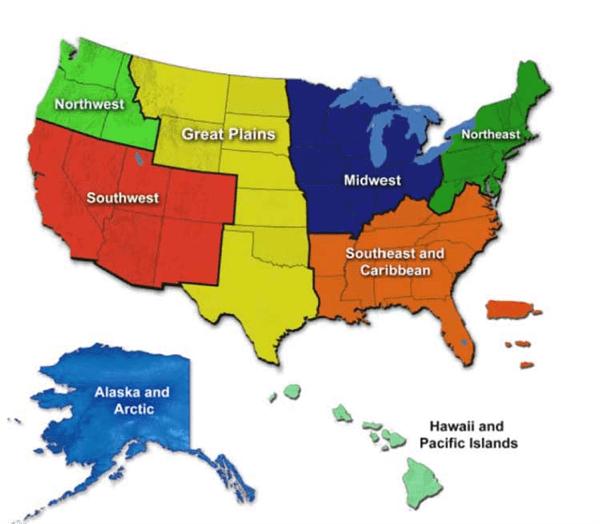 clima en estados unidos