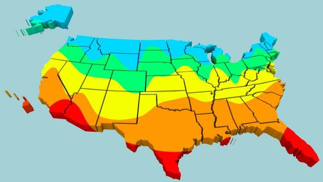 temperatura en estados unidos