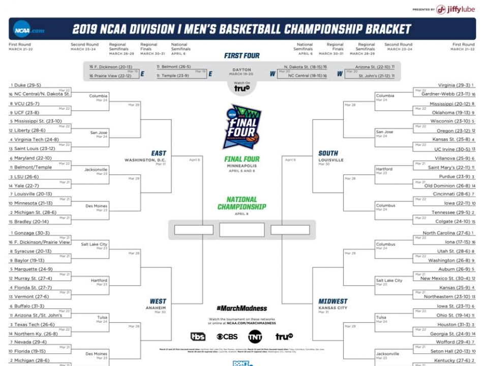 march madness de la ncaa