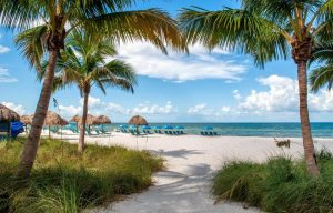 naples beach, florida