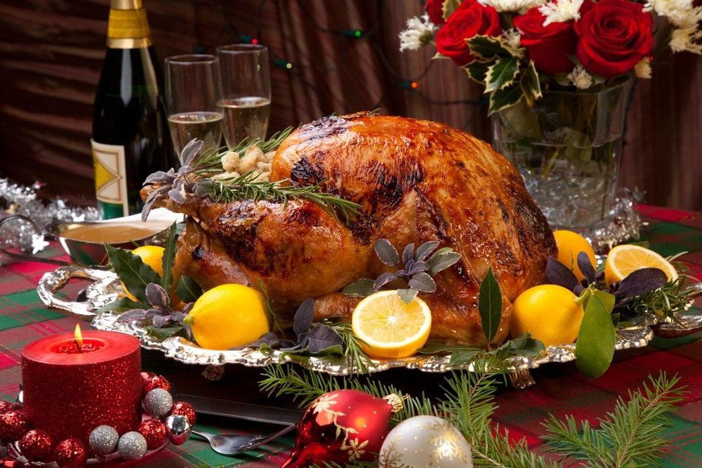 comida de navidad en estados unidos