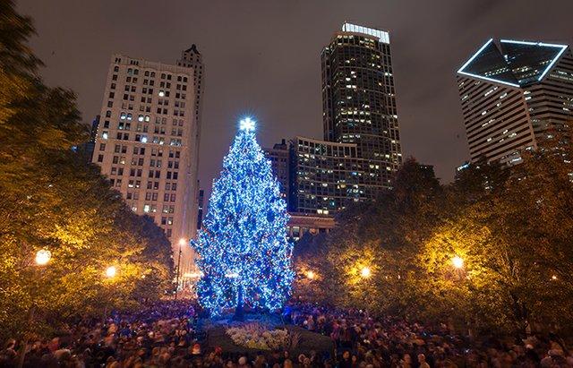 navidad en chicago