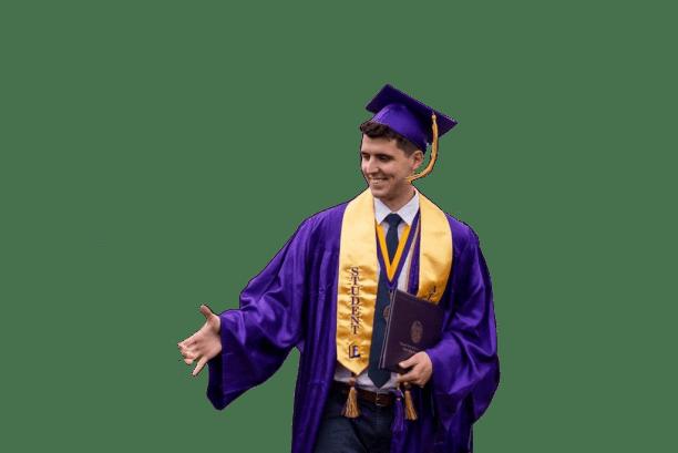 graduacion handshake