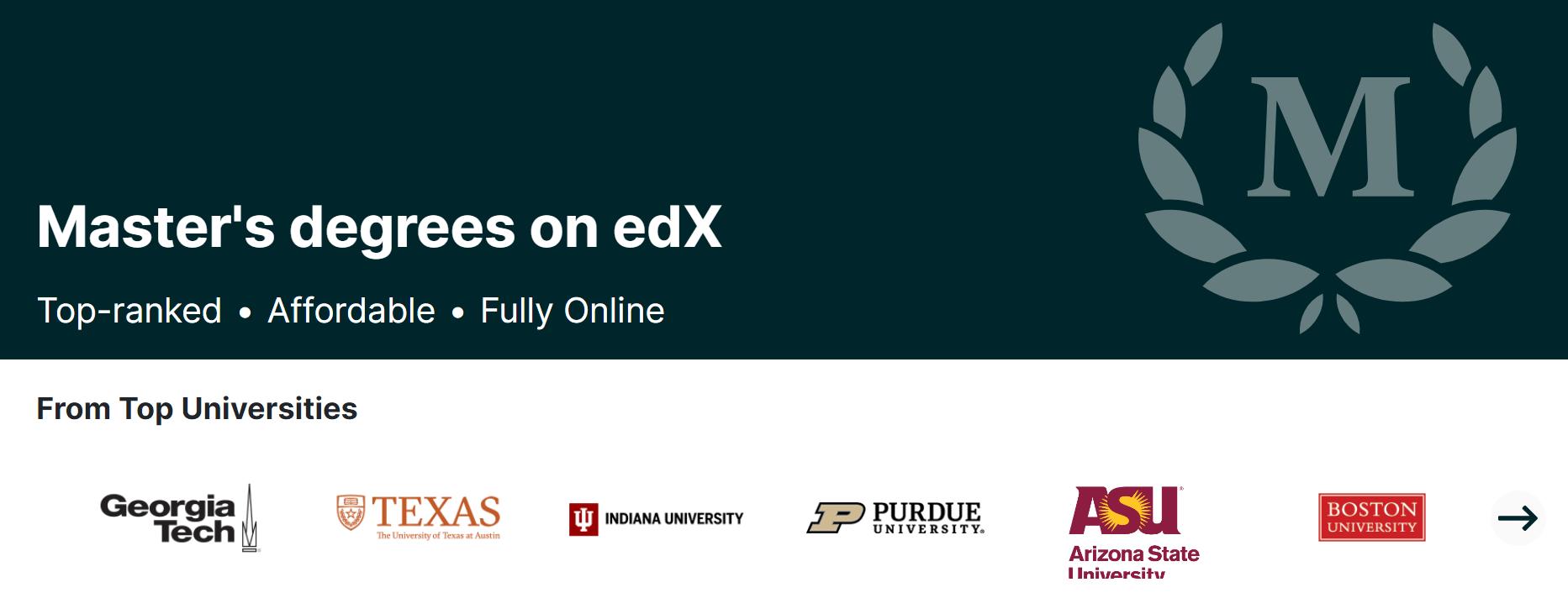 edx masters